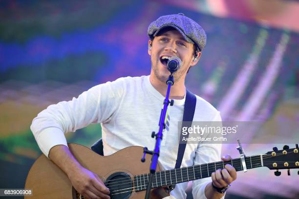 Singer Niall Horan performs at 1027 KIIS FM's 2017 Wango Tango at StubHub Center on May 13 2017 in Carson California
