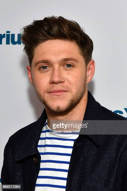 Singer Niall Horan visits SiriusXM Studios on October 25 2017 in New York City