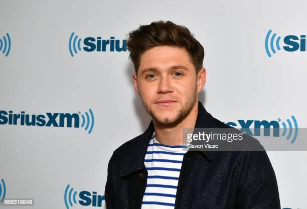 Singer Niall Horan visits SiriusXM Studios on October 25 2017 in New York City