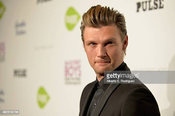 Singer Nick Carter attends the premiere of Gravitas Ventures' Backstreet Boys Show 'Em What You're Made Of at on January 29 2015 in Hollywood...