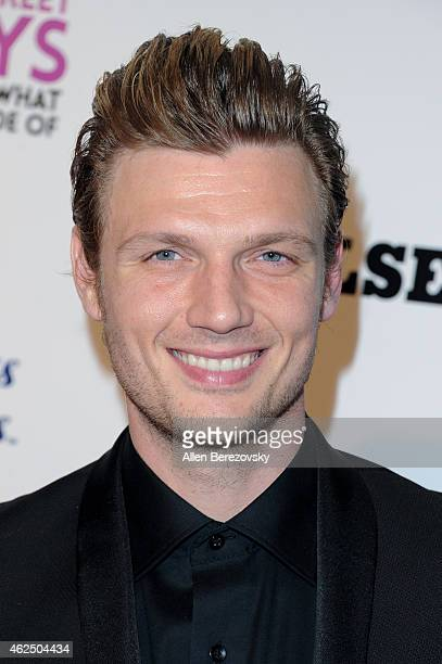 Singer Nick Carter of the Backstreet Boys attends the premiere of Gravitas Ventures' 'Backstreet Boys Show 'Em What You're Made Of' at ArcLight...