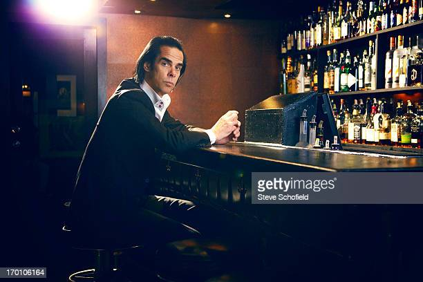 Singer Nick Cave is photographed for the Independent on April 18 2013 in Los Angeles California