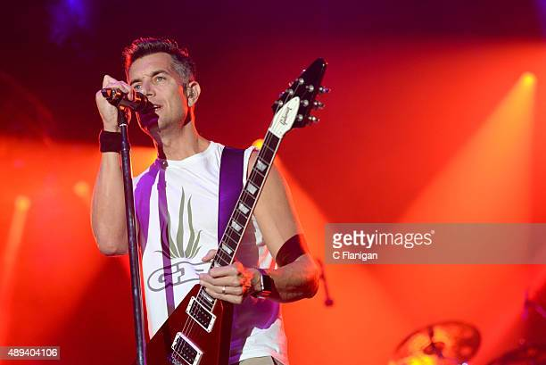 Singer Nick Hexum of 311 performs onstage during 2015 KAABOO Del Mar at the Del Mar Fairgrounds on September 20, 2015 in Del Mar, California.