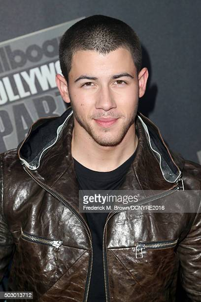 Singer Nick Jonas attends Dick Clark's New Year's Rockin' Eve with Ryan Seacrest 2016 on December 31 2015 in Los Angeles CA