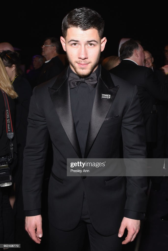 Singer Nick Jonas attends FOX, FX and Hulu 2018 Golden Globe Awards After Party at The Beverly Hilton Hotel on January 7, 2018 in Beverly Hills, California.