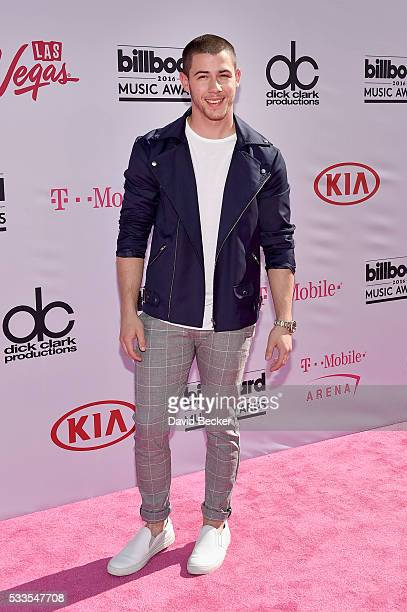 Singer Nick Jonas attends the 2016 Billboard Music Awards at TMobile Arena on May 22 2016 in Las Vegas Nevada