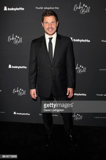 Singer Nick Lachey attends the 7th Annual Baby Ball Gala at NeueHouse Hollywood on October 21 2017 in Los Angeles California