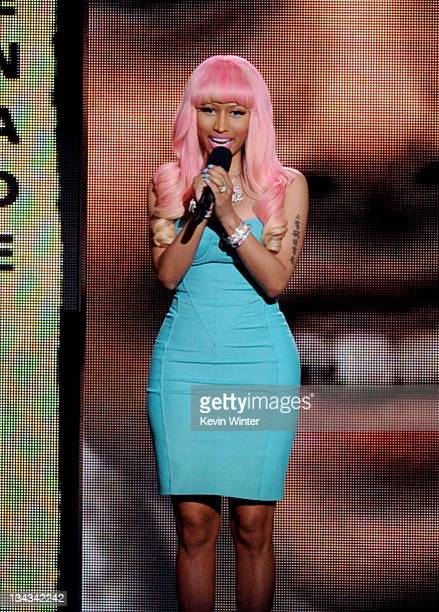 Singer Nicki Minaj appears at the GRAMMY Nominations Concert Live at the Nokia Theater on November 30 2011 in Los Angeles California