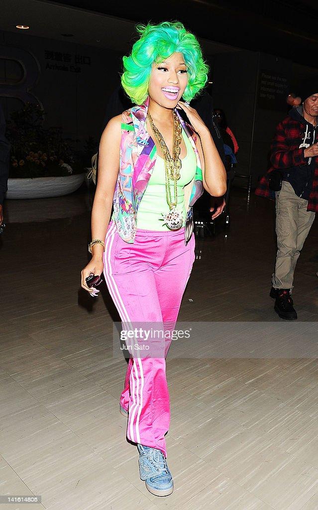 Nicki Minaj Arrives In Tokyo : News Photo