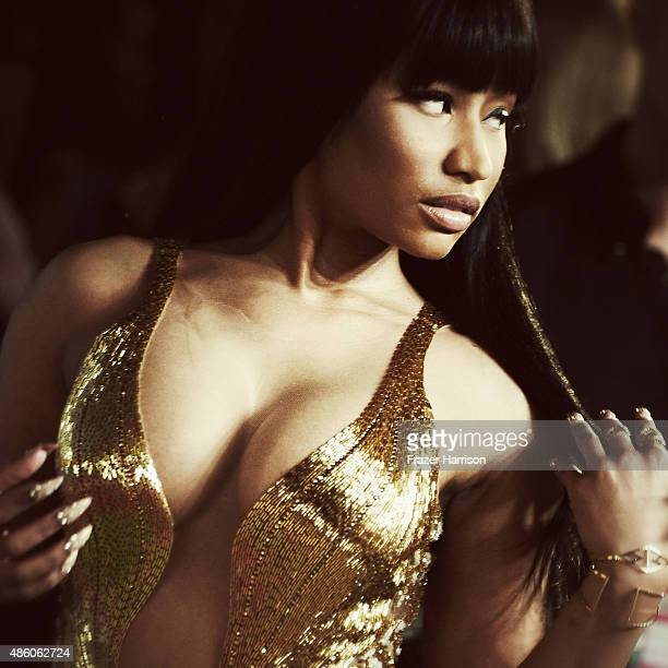 Singer Nicki Minaj arrives at the 2015 MTV Video Music Awards at Microsoft Theater on August 30 2015 in Los Angeles California