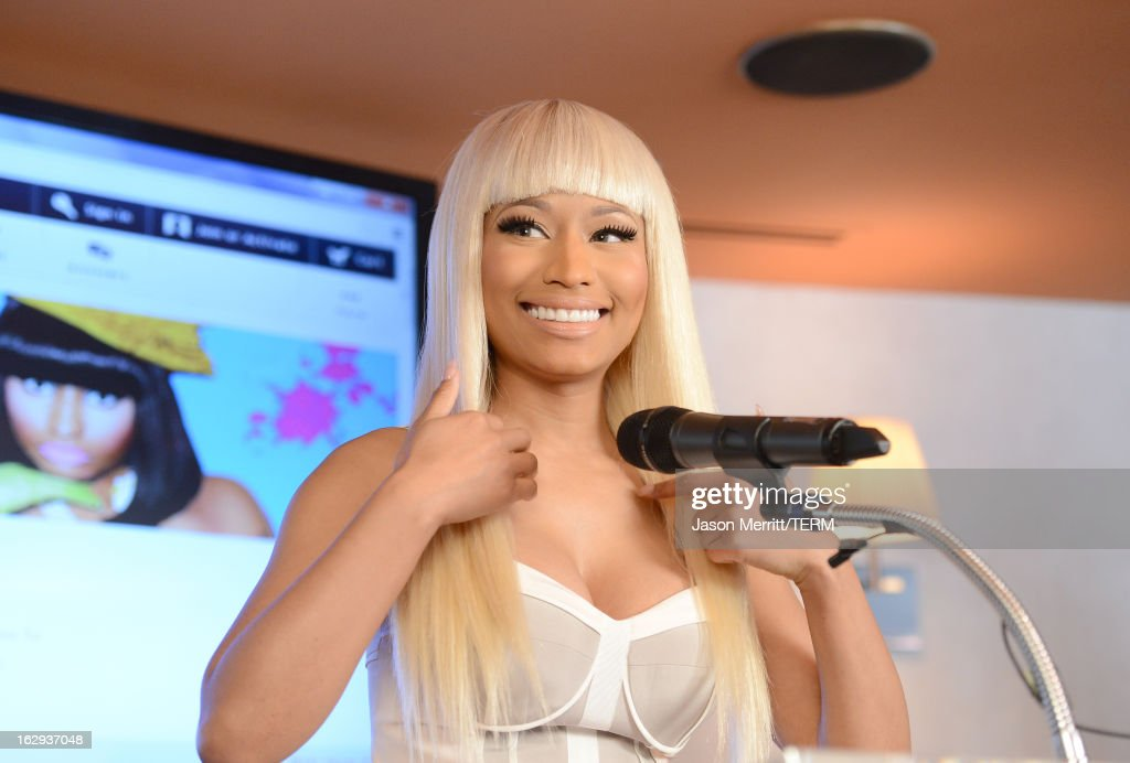 Kmarts nicki minaj collection private event singer nicki minaj attends her kmart collection private event at fig olive melrose place on voltagebd Choice Image