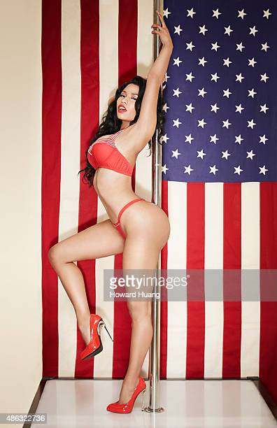 Singer Nicki Minaj is photographed for a calendar on October 30 in New York City