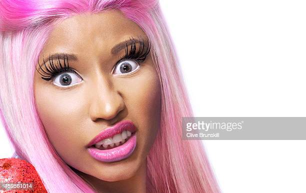 Singer Nicki Minaj is photographed on February 17 2012 in London England