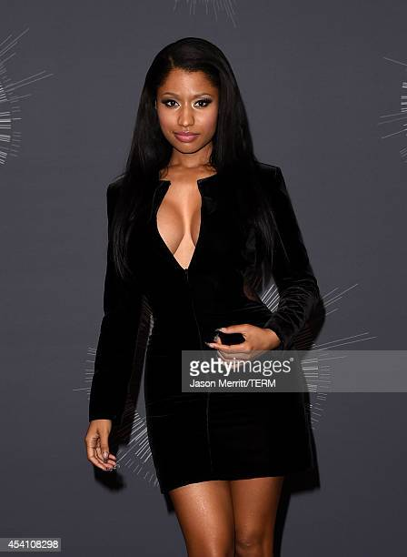 Singer Nicki Minaj poses in the press room during the 2014 MTV Video Music Awards at The Forum on August 24 2014 in Inglewood California