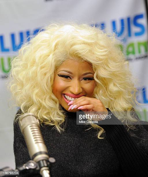 Singer Nicki Minaj visits at Z100 Studio on November 21 2012 in New York City