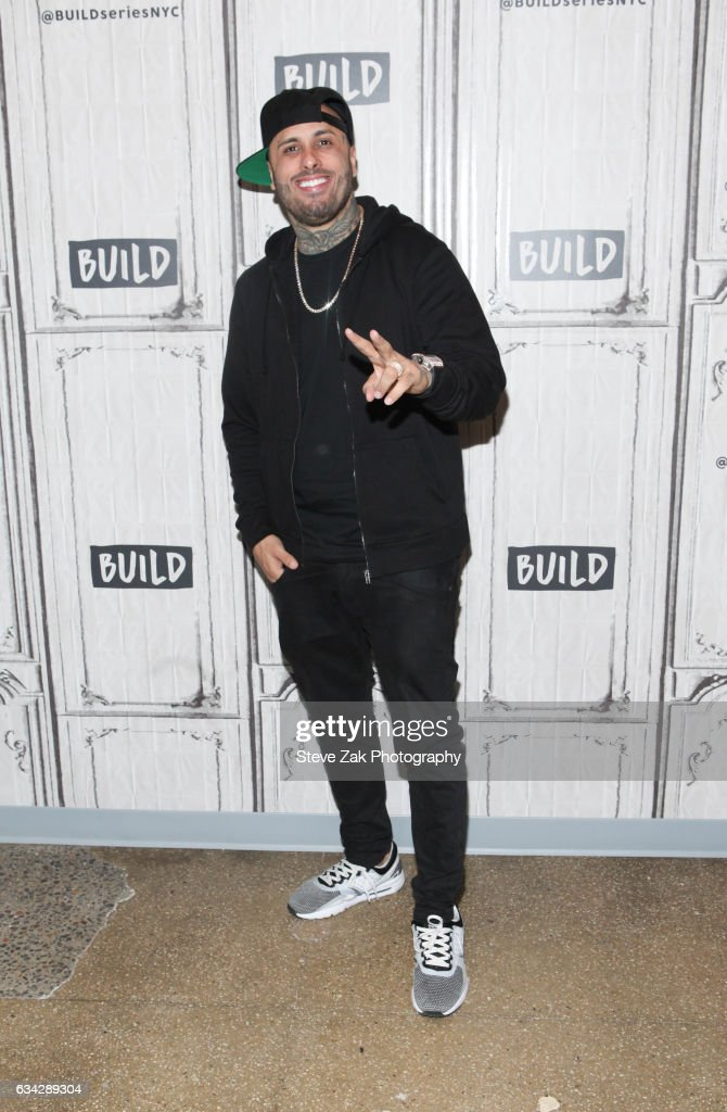 "Build Series Presents Nicky Jam Discussing His New Single ""El Ganador"""
