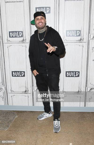 Singer Nicky Jam attends Build Series to discuss his new singe El Ganador at Build Studio on February 8 2017 in New York City