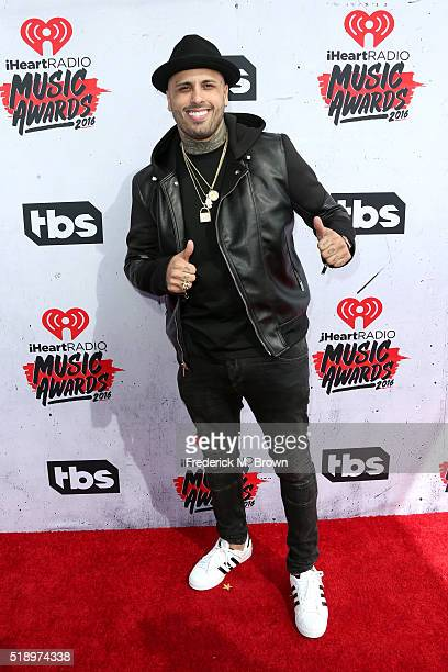 Singer Nicky Jam attends the iHeartRadio Music Awards at The Forum on April 3 2016 in Inglewood California