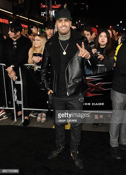 Singer Nicky Jam attends the premiere of 'xXx Return of Xander Cage' at TCL Chinese Theatre IMAX on January 19 2017 in Hollywood California