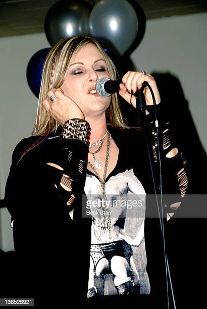Singer Nicky Trebek performs on New Year's Eve at United Methodist Church on December 31 2011 in Sherman Oaks CA