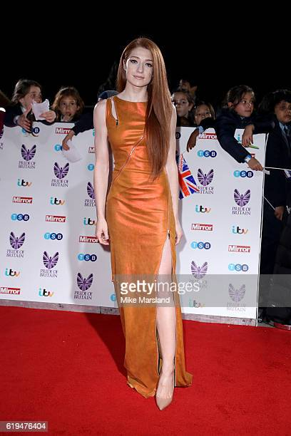 Singer Nicola Roberts attends the Pride Of Britain Awards at The Grosvenor House Hotel on October 31 2016 in London England