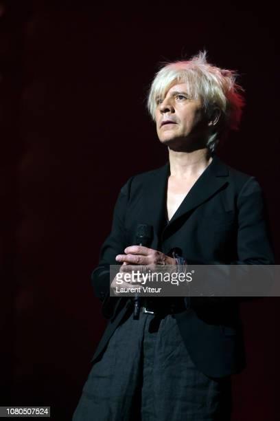 Singer Nicola Sirkis attends Grand Prix de la Sacem 2018 at Salle Pleyel on December 10 2018 in Paris France