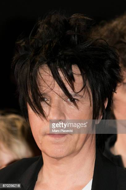 Singer Nicolas Sirkis of 'Indochine' attends the 19th 'NRJ Music Awards' ceremony on November 4 2017 in Cannes France