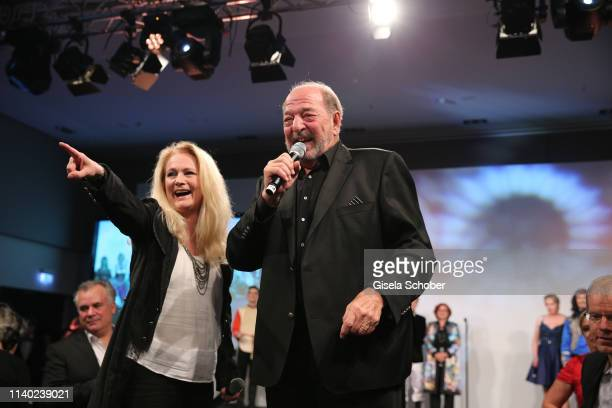 Singer Nicole and Ralph Siegel during the 7th Fashion Charity Dinner and the Best of Awards at Hotel Leonardo Royal on April 29 2019 in Munich Germany