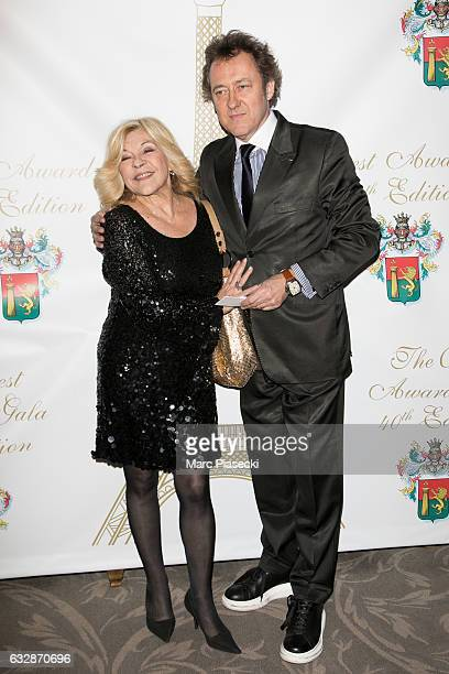 Singer Nicole Grisoni aka Nicoletta and husband JeanChristophe Molinier attend 'The Best Award Gala 40th Edition' at Four Seasons George V hotel on...