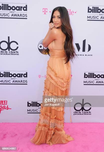 Singer Nicole Scherzinger arrives at the 2017 Billboard Music Awards at TMobile Arena on May 21 2017 in Las Vegas Nevada