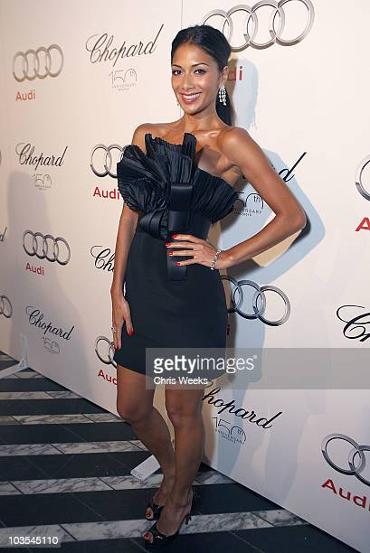 Singer Nicole Scherzinger attends Audi Celebrates the 2010 Emmy Awards at Cecconi's Restaurant on August 22 2010 in Los Angeles California