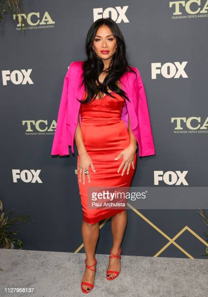 Singer Nicole Scherzinger attends the 2019 FOX Winter TCA Tour at The Fig House on February 06 2019 in Los Angeles California