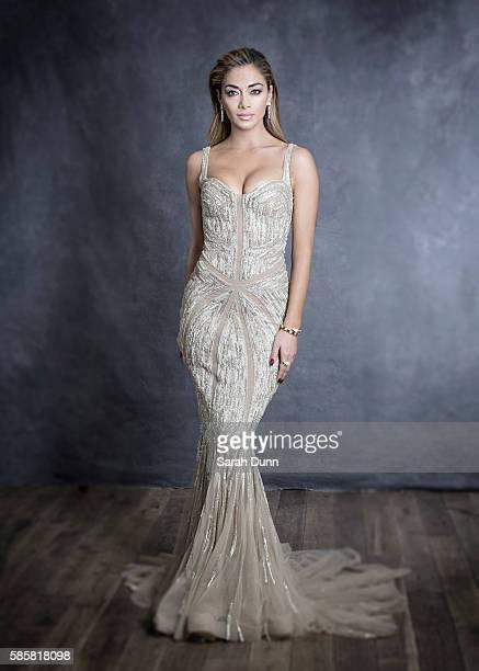 Singer Nicole Scherzinger is photographed on April 12 2015 in London England