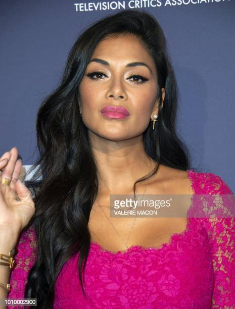 Singer Nicole Scherzinger the FOX Summer TCA 2018 AllStar Party on August 2 in West Hollywood California