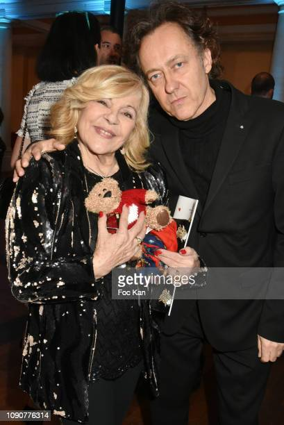 Singer Nicoletta and her husband Jean Christophe Molinier attend the Gala du CÏur Auction Concert To Benefit Mecenat Chirurgie Cardiaque At Salle...