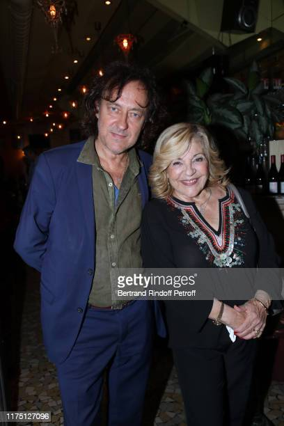 Singer Nicoletta and her husband JeanChristophe Molinier attend the 5th Trophees du Bien Etre Award Ceremony at Theatre de la GaiteMontparnasse on...