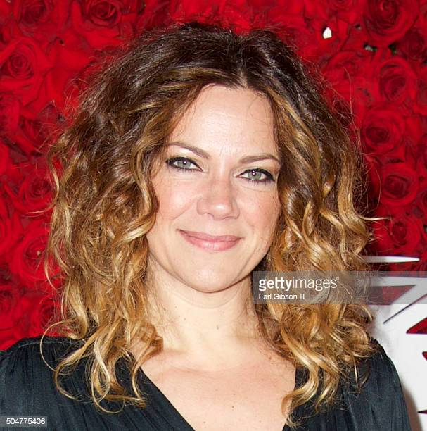 Singer Nikka Costa attends the Qatar Airways Los Angeles Gala at Dolby Theatre on January 12 2016 in Hollywood California
