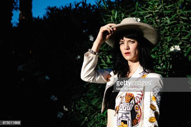Singer Nikki Lane poses for a portrait at 2017 Stagecoach California's Country Music Festival at the Empire Polo Club on April 29 2017 in Indio...