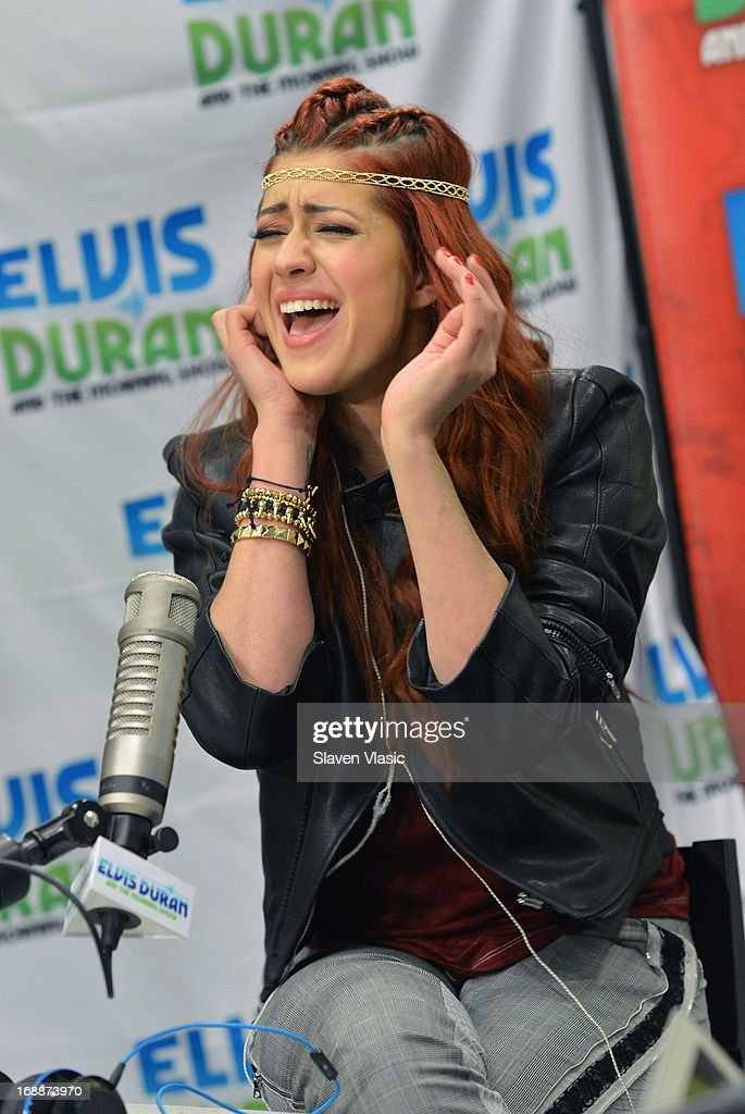 Singer Nikki Williams performs at Elvis Duran Z100 Morning Show at Z100 Studio on May 16, 2013 in New York City.