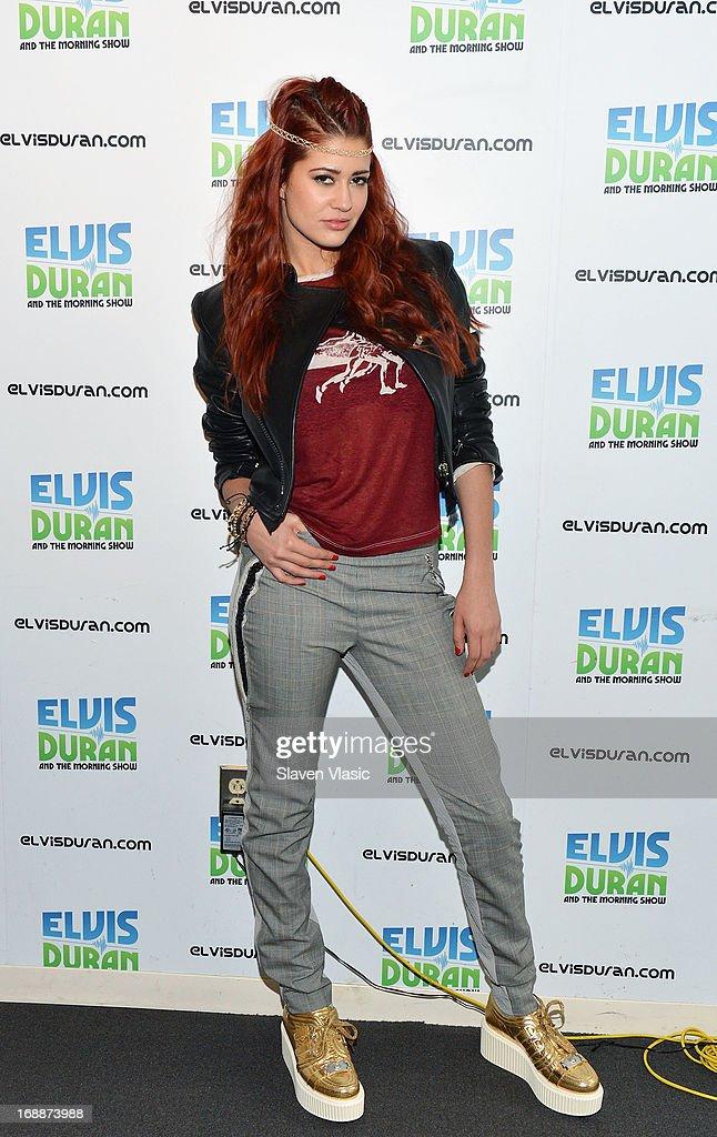 Singer Nikki Williams visits Elvis Duran Z100 Morning Show at Z100 Studio on May 16, 2013 in New York City.