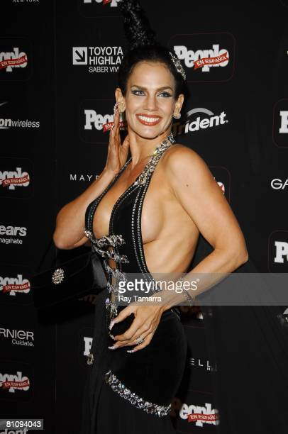 Singer Niurka Marcos attends the People En Espanol's 50 Most Beautiful Party at Mansion on May 14 2008 in New York City