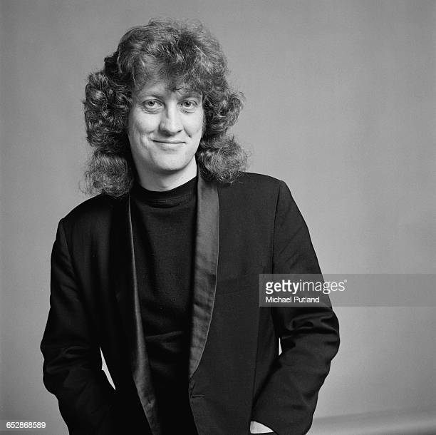 Singer Noddy Holder of British rock group Slade 1981