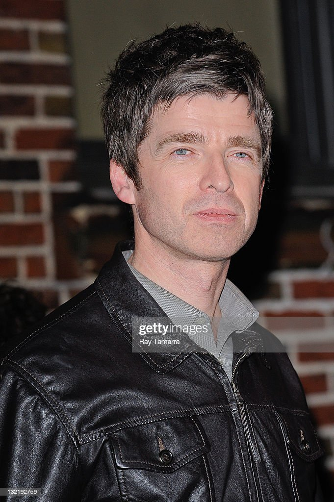Singer Noel Gallagher leaves the 'Late Show With David Letterman' taping at the Ed Sullivan Theater on November 10, 2011 in New York City.