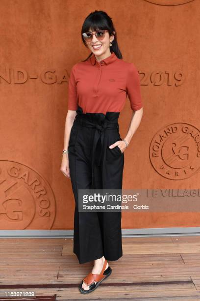 Singer Nolwenn Leroy attends the 2019 French Tennis Open Day Ten at Roland Garros on June 04 2019 in Paris France