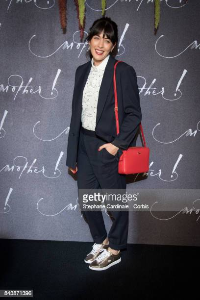 Singer Nolwenn Leroy attends the French Premiere of mother at Cinema UGC Normandie on September 7 2017 in Paris France