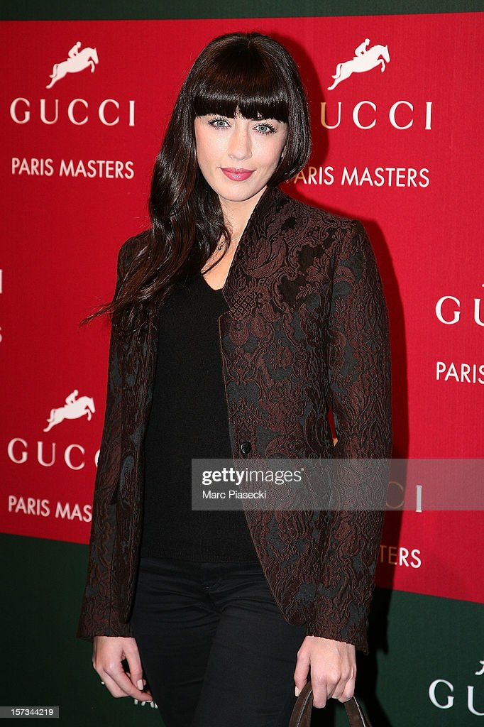 Singer Nolwenn Leroy attends the 'Gucci Paris Masters 2012' at Paris Nord Villepinte on December 2, 2012 in Paris, France.