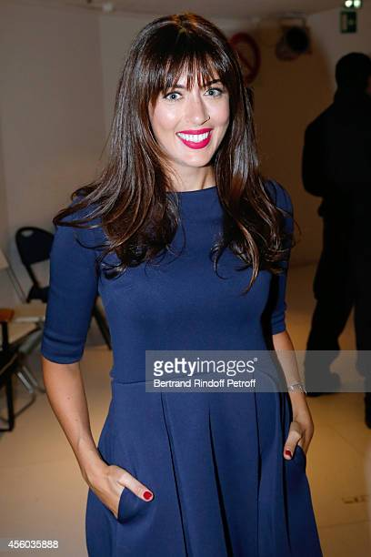 Singer Nolwenn Leroy attends the 'Vivement Dimanche' French TV Show at Pavillon Gabriel on September 24 2014 in Paris France