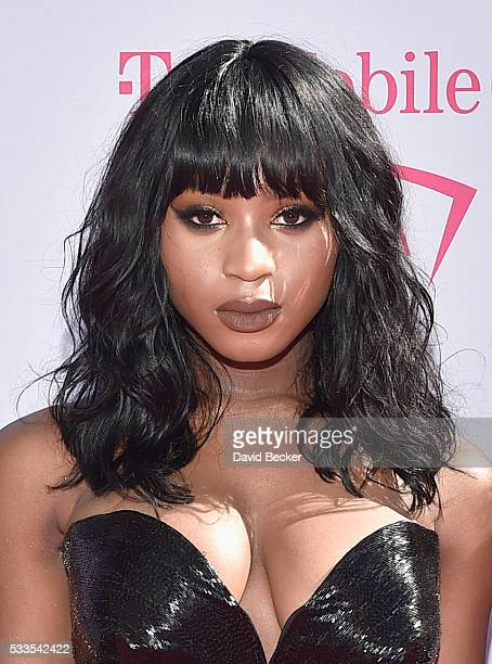 Singer Normani Kordei of Fifth Harmony attends the 2016 Billboard Music Awards at TMobile Arena on May 22 2016 in Las Vegas Nevada