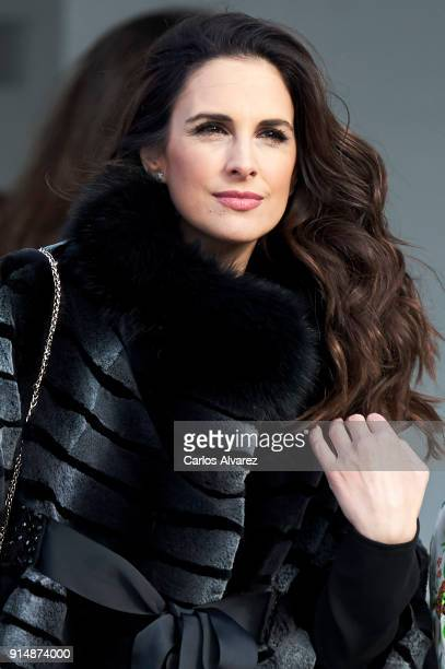 Singer Nuria Fergo attends the Gold Medals of Merit in Fine Arts 2016 ceremony at the Pompidou Center on February 6 2018 in Malaga Spain