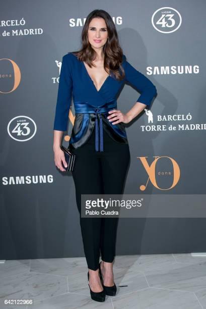 Singer Nuria Fergo attends the 'Yo Dona' party that inaugurates MercedesBenz Fashion Week Madrid Autumn/ Winter 2017 at Barcelo Torre de Madrid Hotel...